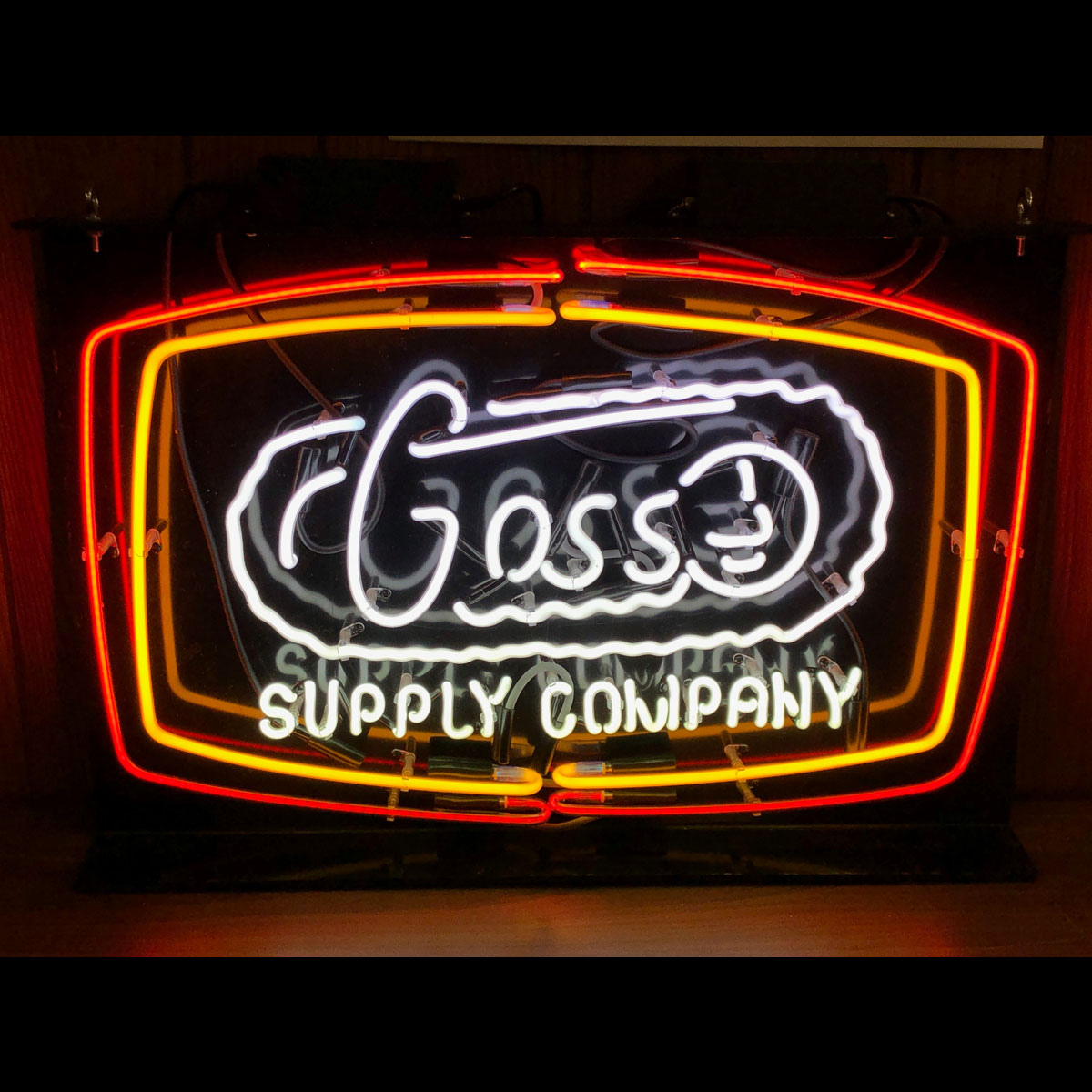 Goss Supply Corporation Historical Images Original Logo